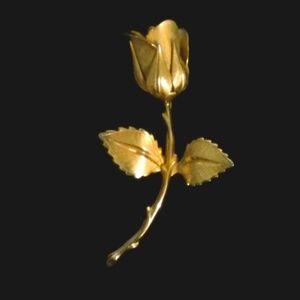Rose Pin / Brooch